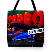 Sci Fi Theater Tote Bag by Benjamin Yeager