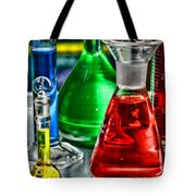 Science - Lab Glass Tote Bag