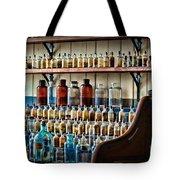 Science - My Chemistry Set Tote Bag by Paul Ward