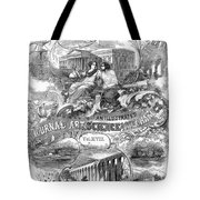 Scientific American, 1867 Tote Bag
