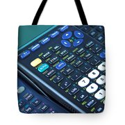 Scientific Calculators Tote Bag by Jose Elias - Sofia Pereira