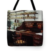 Scientist - Office In Chemistry Lab Tote Bag by Susan Savad