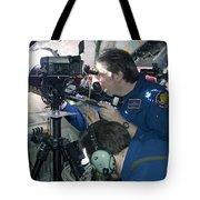 Scientists Onboard Stratotanker Tote Bag