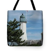 Scituate Light Five Tote Bag