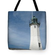 Scituate Light Four Tote Bag