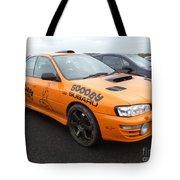 Scooby Subaru Tote Bag