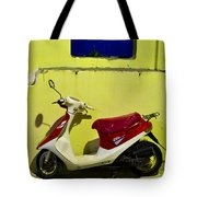 Scooter Tote Bag