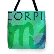 Scorpio Tote Bag