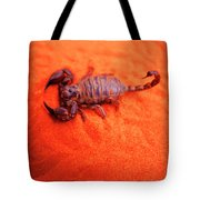 Scorpion Red Sand Sting Insect Tote Bag