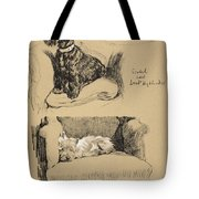 Scotch And West Highlander, 1930 Tote Bag