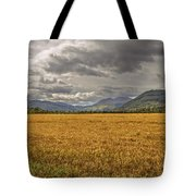 Scotland - Golden Fields And Green Hills Tote Bag