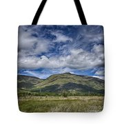 Scotland Loch Awe Mountain Landscape Tote Bag