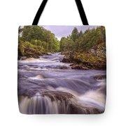 Scotland's Falls Of Dochart - Killin Scotland Tote Bag