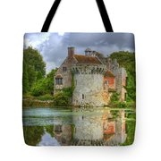 Scotney Castle Reflections Tote Bag