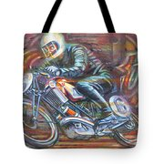 Scott 2 Tote Bag by Mark Howard Jones