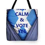 Scottish Businessman Votes Yes Tote Bag