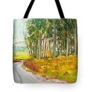 Scottish Forest In Spring Tote Bag