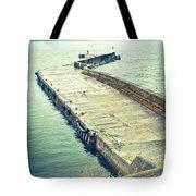 Scottish Harbour Tote Bag