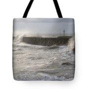 Scottish Sea Storm Tote Bag