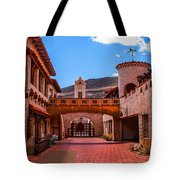 Scotty's Castle Courtyard Tote Bag