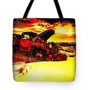 Junk In The Afternoon Sun Tote Bag