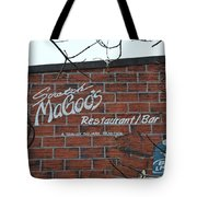 Scratch Magoo's Wilmington De Tote Bag