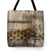 Scratched Metal And Old Books Number 2 Tote Bag