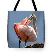 Scratchin' My Back   Tote Bag