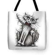 Scratchy Cat Tote Bag