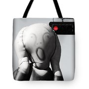 Scream Of Accidents  Tote Bag