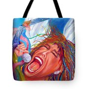 Screamin Angel Tote Bag