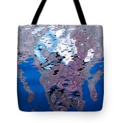 Screaming Reflection Tote Bag