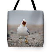 Screaming Seagull Tote Bag