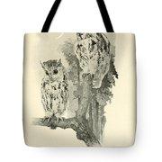 Screech Owls Tote Bag