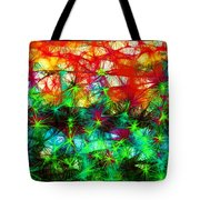 Scribble Thicket Tote Bag