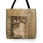 Scroll And Flowers The Forgotten Series 12 Tote Bag