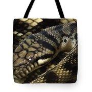 Scrub Python Abstraction Tote Bag