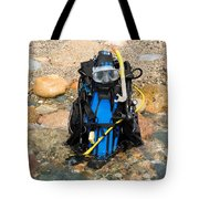 Scuba Gear Tote Bag
