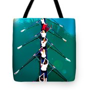 Rowing In The Sun Tote Bag