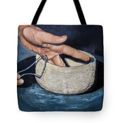 Sculpted By The Masters Hands Tote Bag