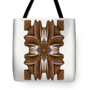 Sculpted Mandala Yantra Tote Bag
