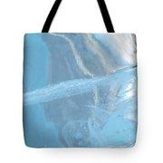 Sculpting A Blue Streak Tote Bag