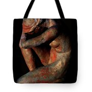 Sculpture Of Nude Woman Tote Bag