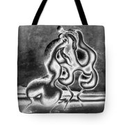 Sculpture Of Passion Tote Bag