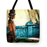 Sculpture Park In Nassau Bahamas Tote Bag