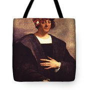 Scumbag Columbus Tote Bag