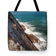 Sea And Cliff Tote Bag