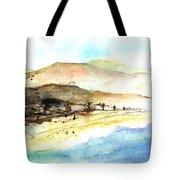 Sea And Mountains Tote Bag