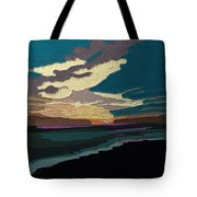 Sea And Sky In Colour Tote Bag