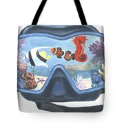 Sea Beneath The Surface Tote Bag